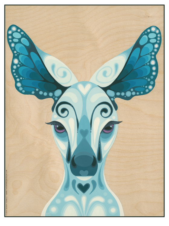 Image of Blue Fawn - Print