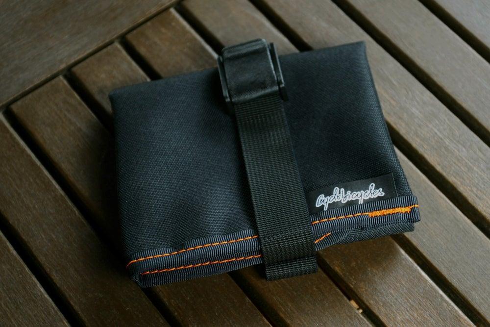 Image of Saddle Tool Roll - Black