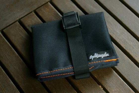 Image of Saddle Tool Roll - Black
