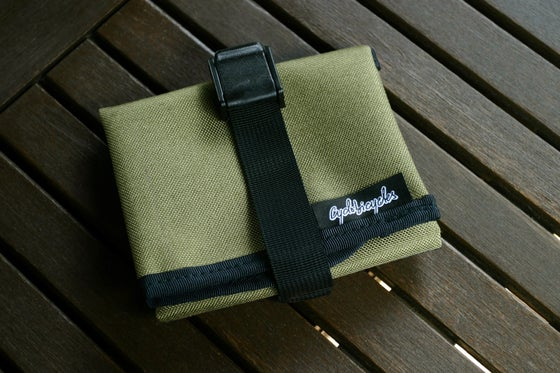 Image of Saddle Tool Roll - Khaky