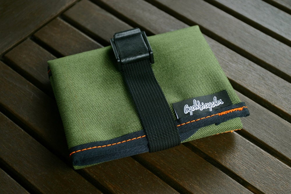 Image of Saddle Tool Roll - Olive