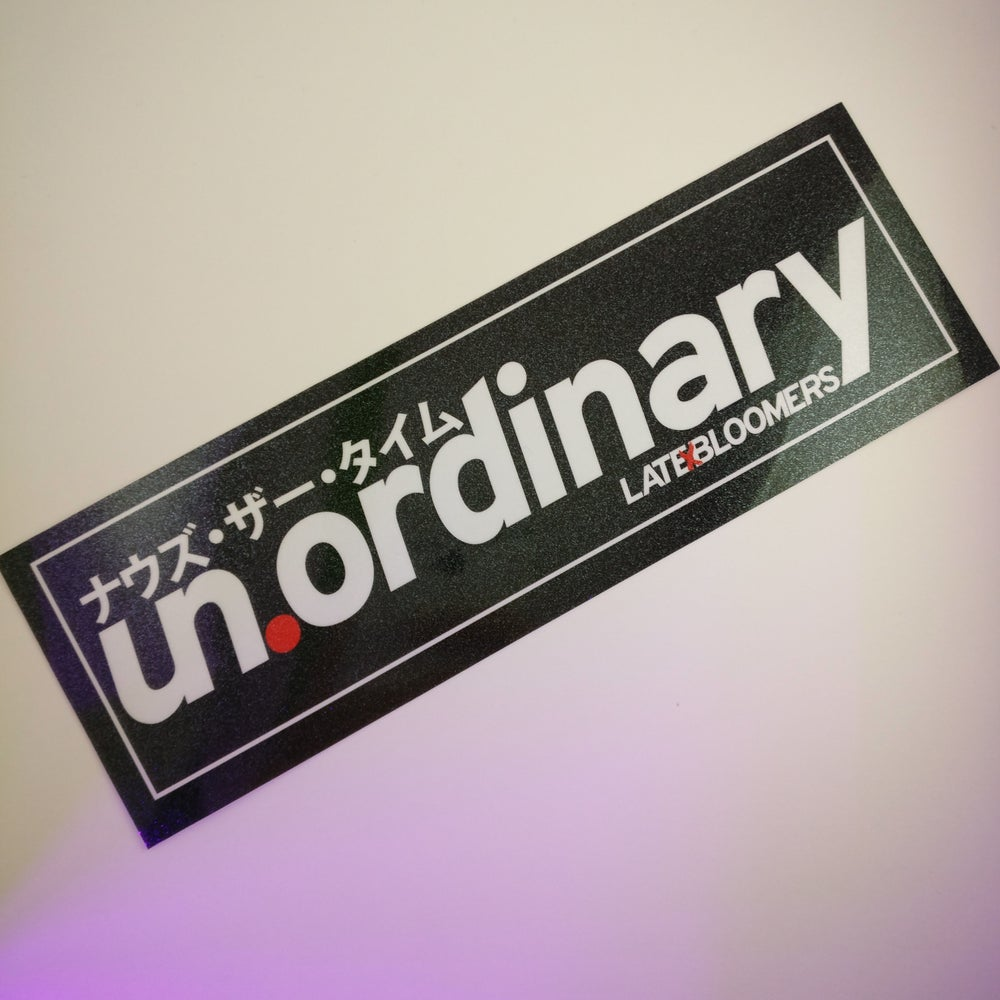 Image of un.ordinary | w/Vinyl UV Coating & Metallic Laminate