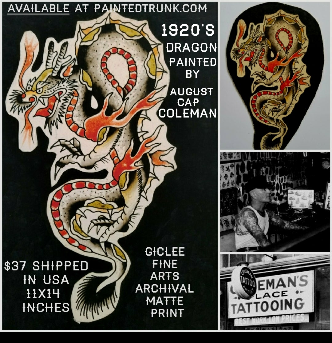 paintedtrunk u2014 prints of tattoo flash