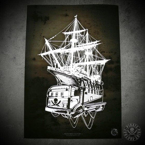 Image of Print Pirate Boat