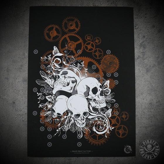 Image of Print Skulls & Gears