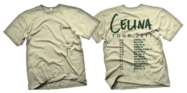 Image of Celina Tour 2017 Shirt