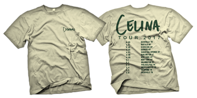 Image of Celina Tour 2017 Shirt