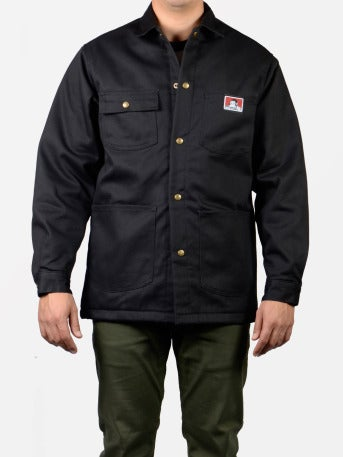 Image of Ben Davis Original Jacket, Black – Front Snap