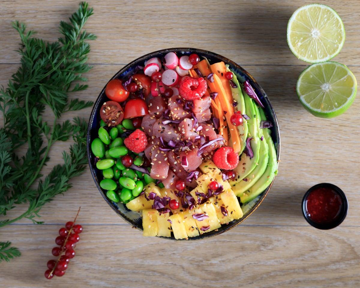 Image of Poke Thon Rouge- Ananas