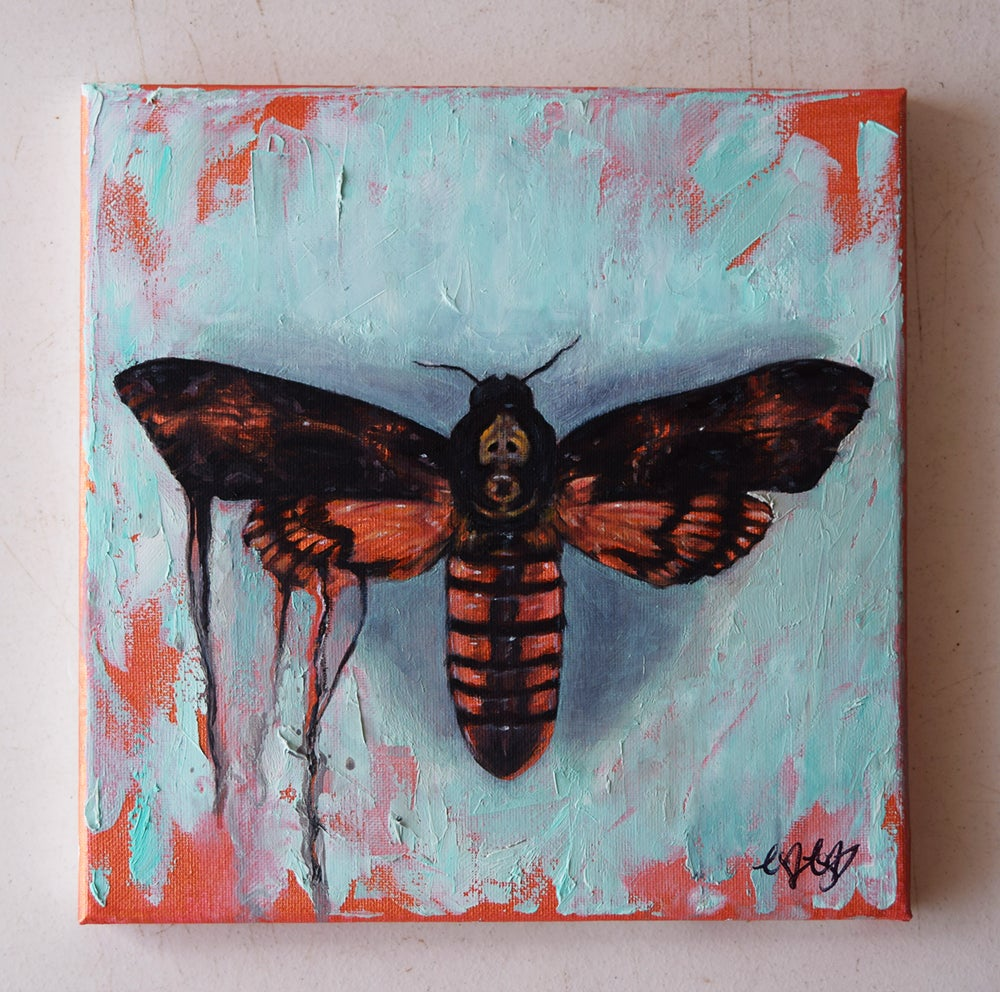 Image of Original Painting: Broken Butterfly