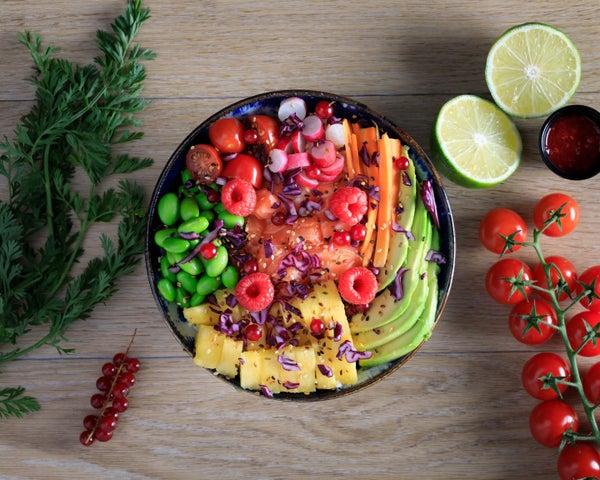 Image of Poke Saumon-Ananas