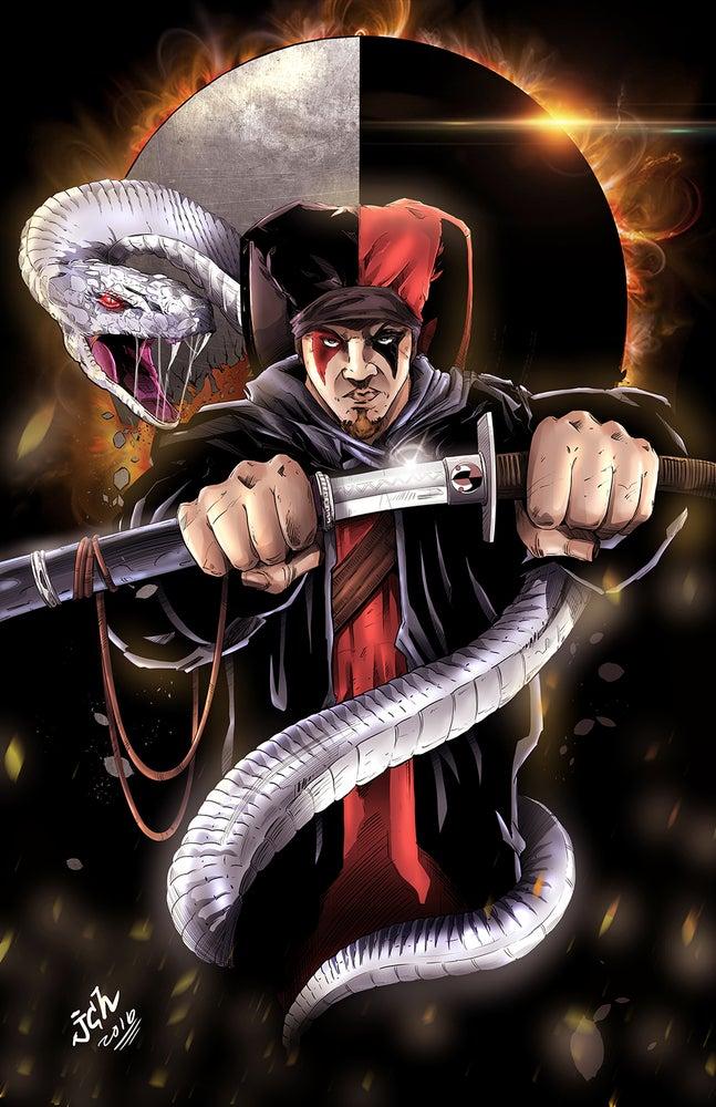 """Image of The Jokerr's """"Snake& Sword"""" Poster"""
