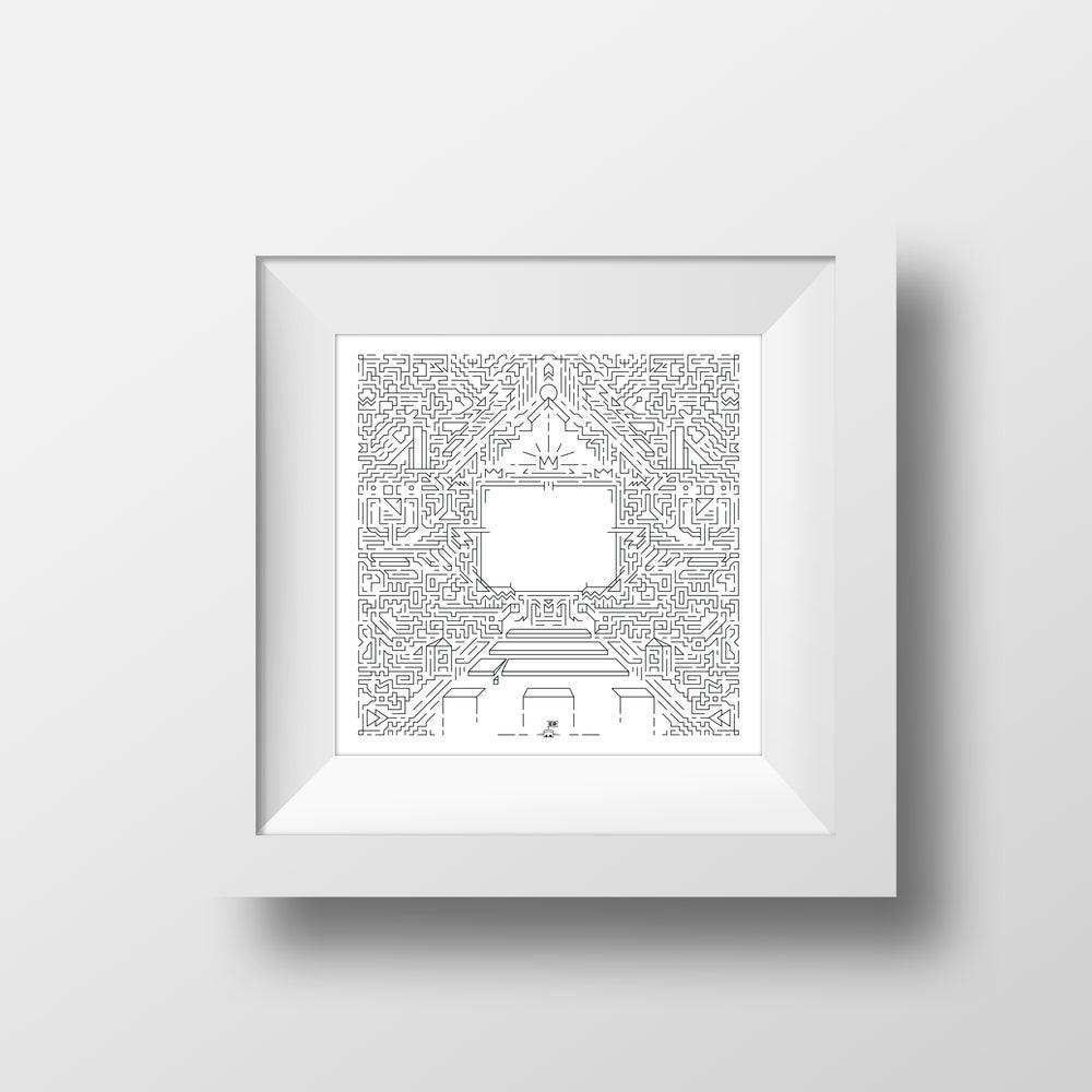 Image of Memory Lane print