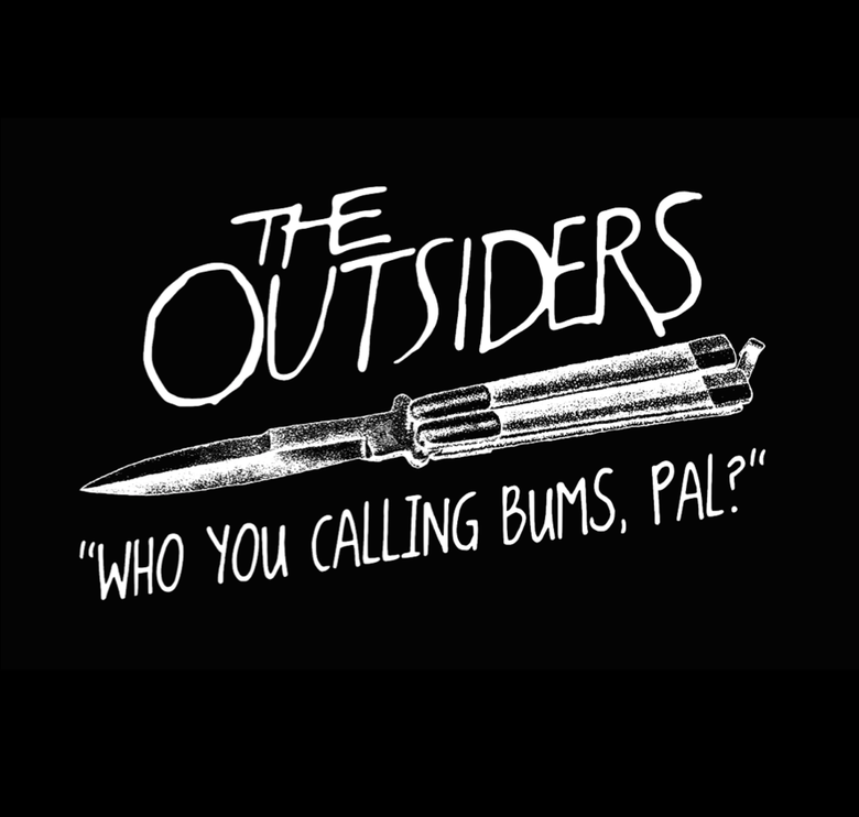 "Image of The Outsiders ""Who You Calling Bums, Pal?"" T Shirt"