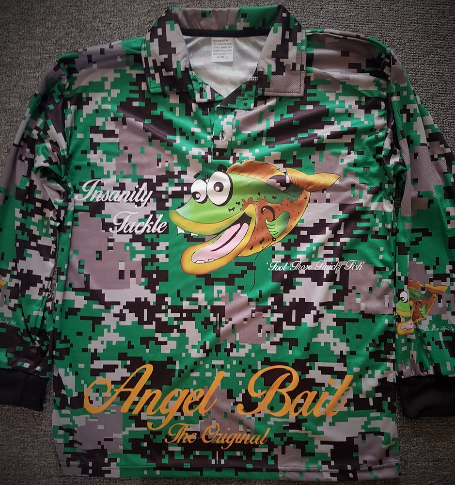 Image of Fishing jersey (green)