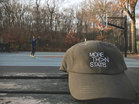 Image of More Than Stats 'Dad Hat' OLIVE