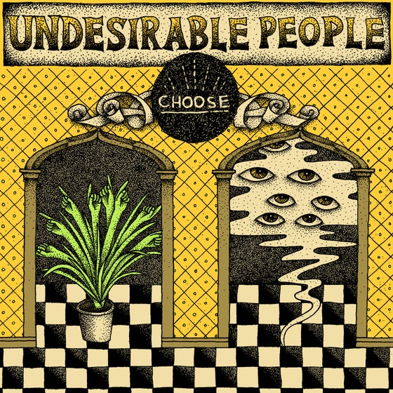 """Image of Undesirable People - Choose 7"""""""