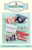 Image of Pretty Little Pouches 2 PDF Pattern #1009