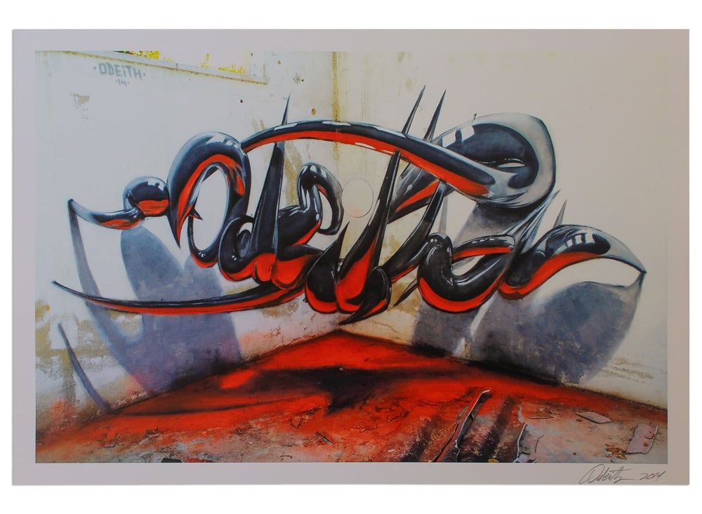 Image of ODEITH Anamorphic Chrome (Signed)