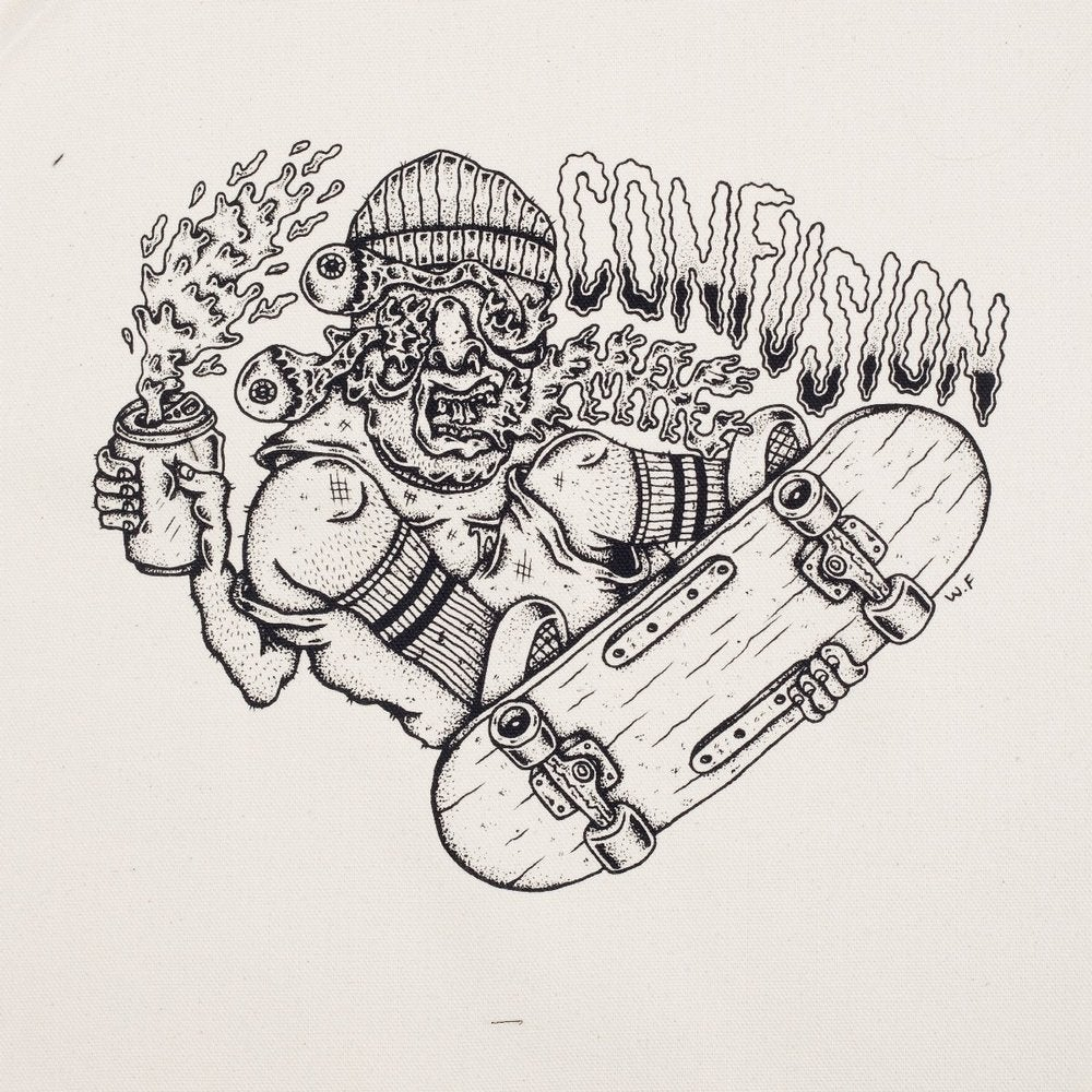 Image of PUKER - Confusion back patch