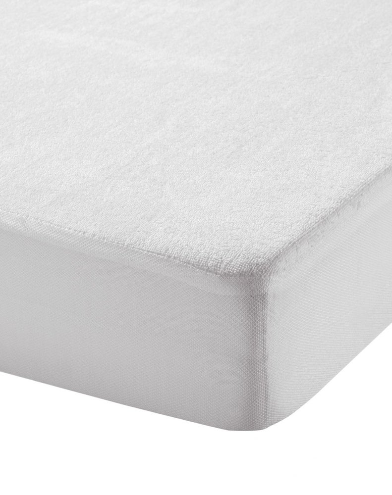 Image of Funda protectora para colchón capazo / minicuna / cuna