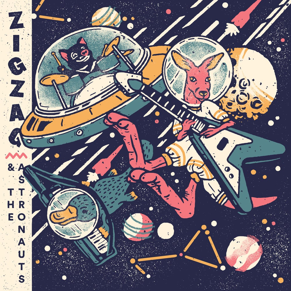 Image of Zigzag and the Astronauts CD
