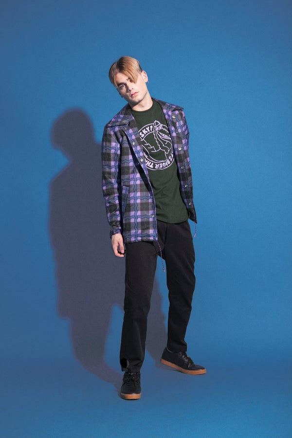 Image of tartan boy jacket