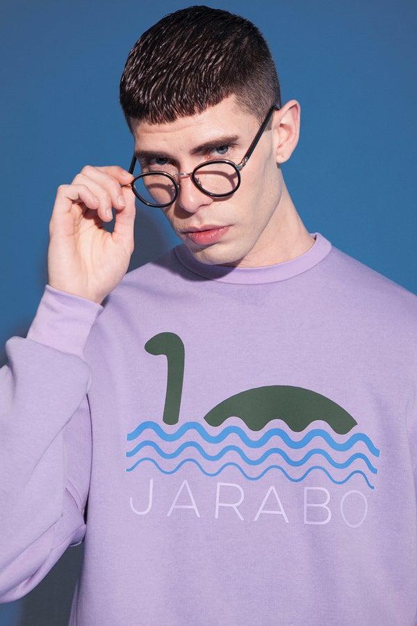Image of lilac nessie sweatshirt