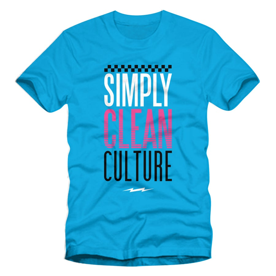 "Image of Men ""Culture"" Tee... Turquoise"