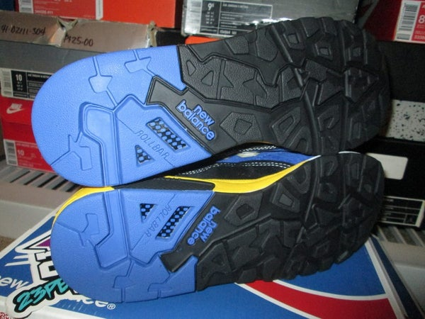 "New Balance 580 Elite Edition ""Blue/Yellow"" - FAMPRICE.COM by 23PENNY"
