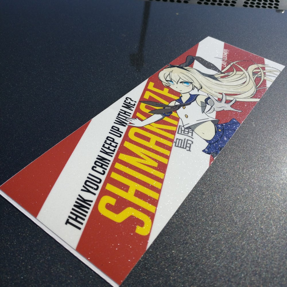 Image of Shimakaze Eject Highlight | w/Vinyl UV Coating & Metallic Laminate