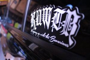 Image of KUWTB Limited/Version 1 Sticker