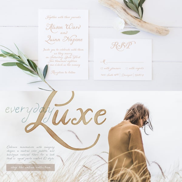 30% Intro Sale! | Liesel Font - Magpie Paper Works