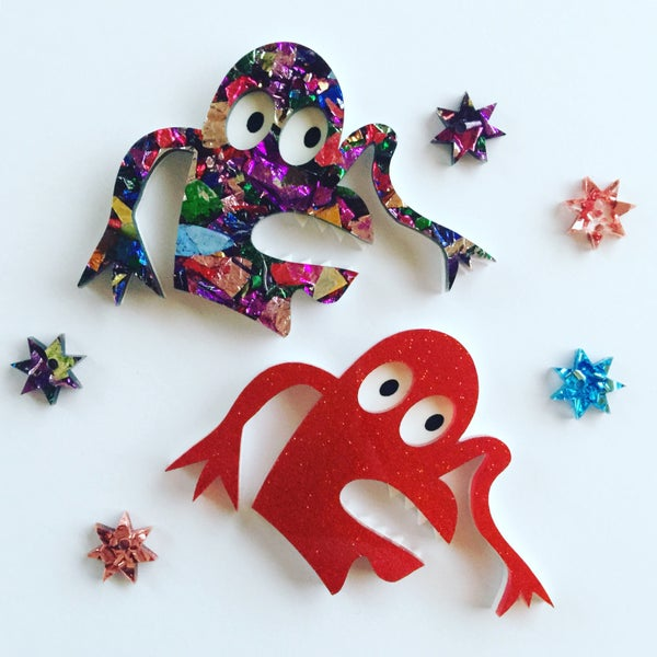 Image of Finger Monster Brooch