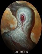 """Image of """"One Eyed Jack"""" Canvas Giclee 11x14"""""""