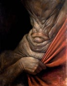"Image of ""Peekaboo"" Canvas Giclee 11x14"""