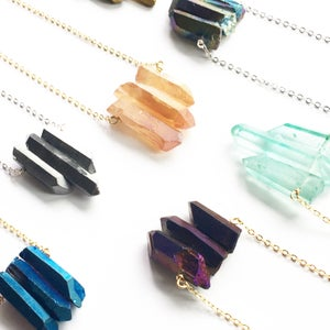 Image of Trio Necklaces - Quartz Crystal