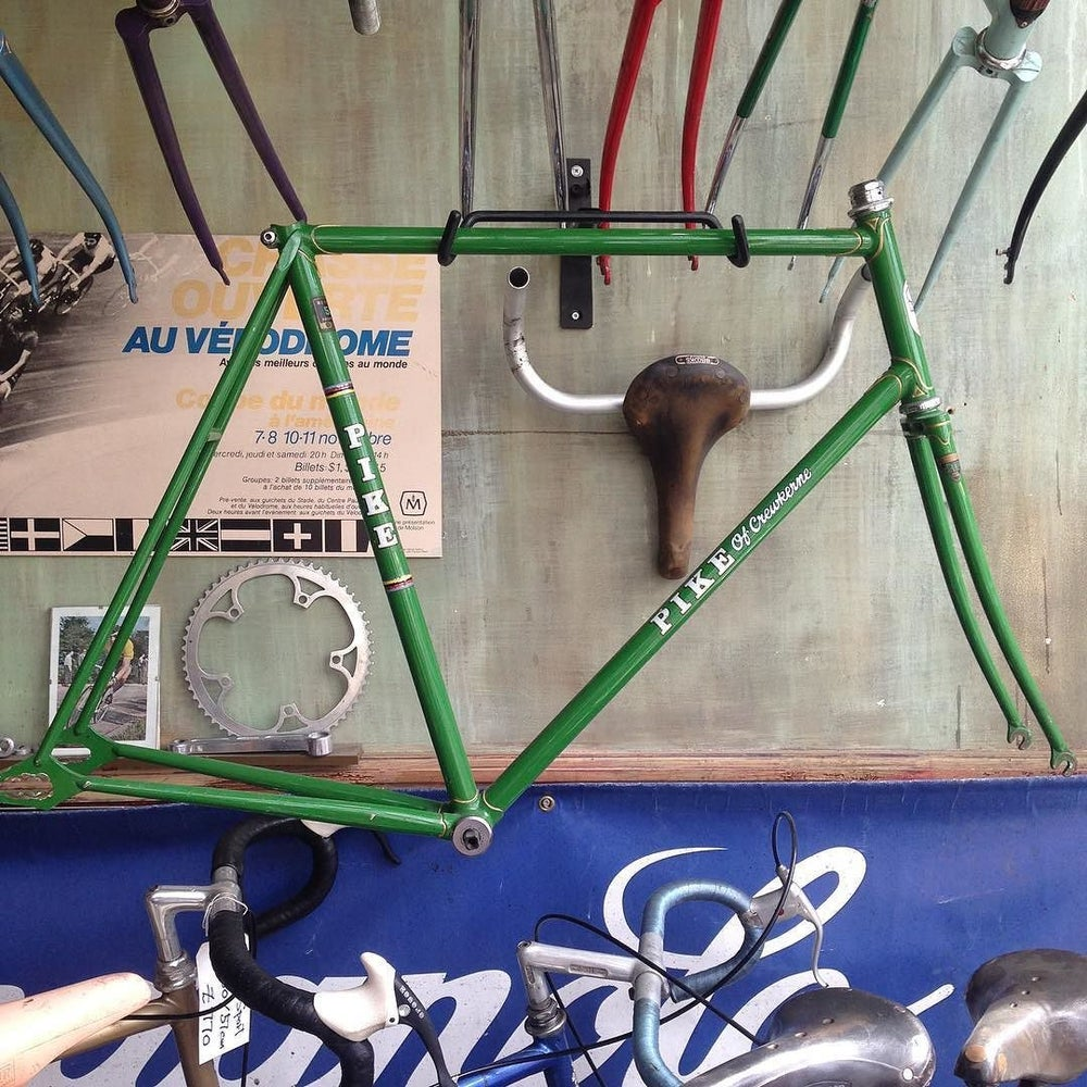 "Image of Stan Pike track frame.  24"" or 60cm seat 57cm top"