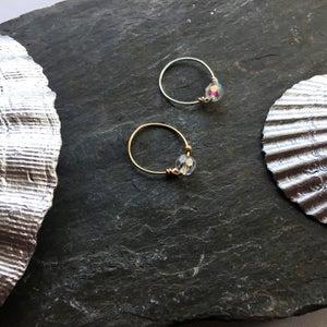 Image of Simple Swarovski Rings