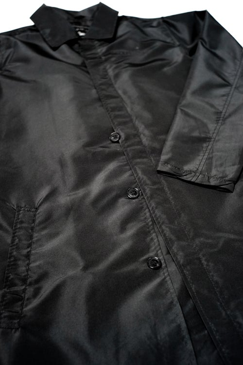 "Image of LANSI ""Midnight"" Trench Jacket"