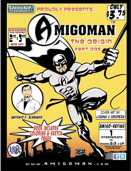 Image of AMIGOMAN™: The Origin-Part Dos (2)
