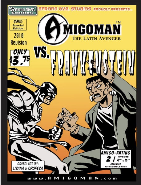 Image of AMIGOMAN™ vs. Frankenstein