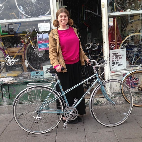 Image of Claud Butler Mixte. Reynolds 531  51cm seat tube 53 cm top tube