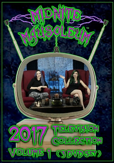 Image of Midnite Mausoleum TV2017 Volume 1 (3 DVD set)