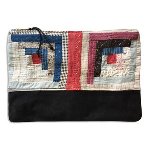 Image of VINTAGE QUILT POUCH #2