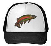 Image of Rainbow Trout Trucker Hat