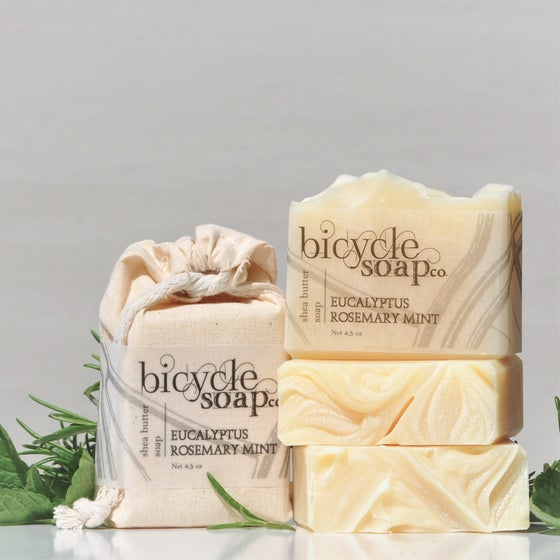 Image of Eucalyptus Rosemary Mint Shea Butter Soap