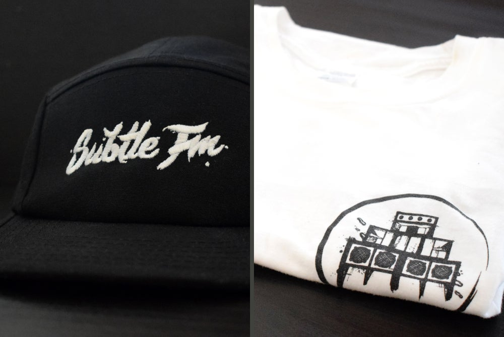 Image of Subtle FM Tee & 5 Panel Package