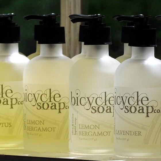 Image of Olive & Castor Liquid Castile Soaps