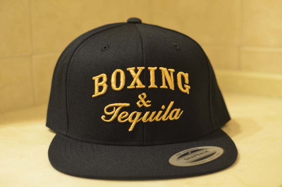 Image of Gold Boxing & Tequila SnapBacks